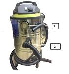 Стационарный тонерный пылесос большой емкости ПОСТ1-СЦ